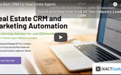 The Best CRM For Real Estate Agents Is Ixact Contact